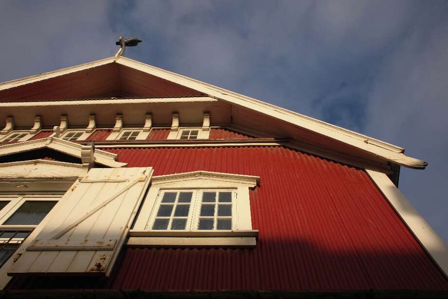 Building in downtown Reykjavik. Photo: Photographer: Lance Iversen / Copyright: San Francisco Chronicle