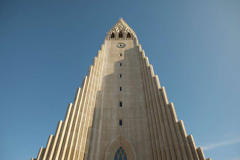 The church of Hallgrimur in Reykjavik.