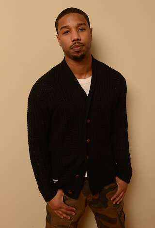PARK CITY, UT - JANUARY 19:  Actor Michael B. Jordan poses for a portrait during the 2013 Sundance Film Festival at the Getty Images Portrait Studio at Village at the Lift on January 19, 2013 in Park City, Utah.  (Photo by Larry Busacca/Getty Images) Photo: Larry Busacca, Getty Images