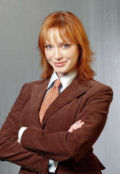 Christina Hendricks in 2004, as 'Nicolette Raye,' in the short-lived TV dud, 'Kevin Hill.'