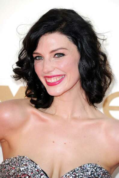 Jessica Paré at the Emmys in 2011.