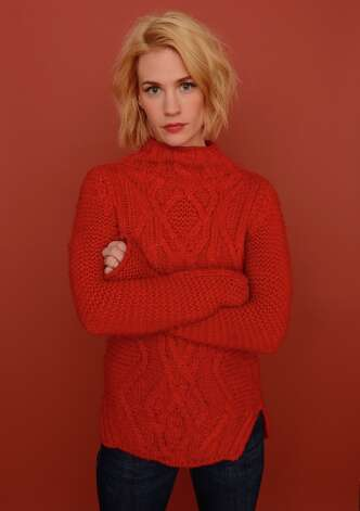 January Jones in 2013 at the Sundance Film Festival, where her newest movie, 'Sweetwater,' premiered. Photo: Larry Busacca, Getty Images / 2013 Getty Images