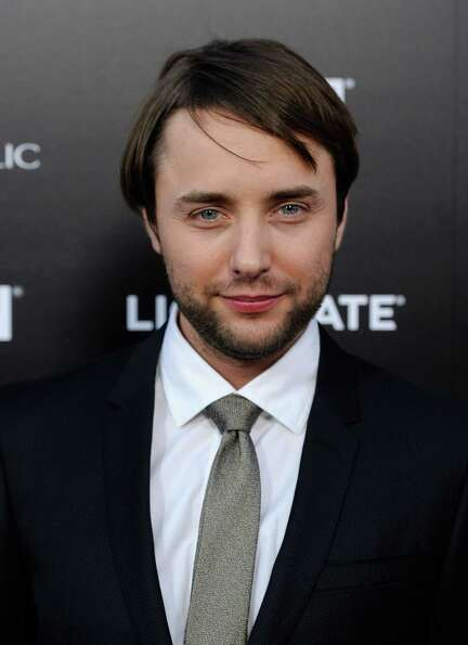 Kartheiser looking more Pete Campbell-like at the Season 5 premiere of 'Mad Men' on March 14, 2012.