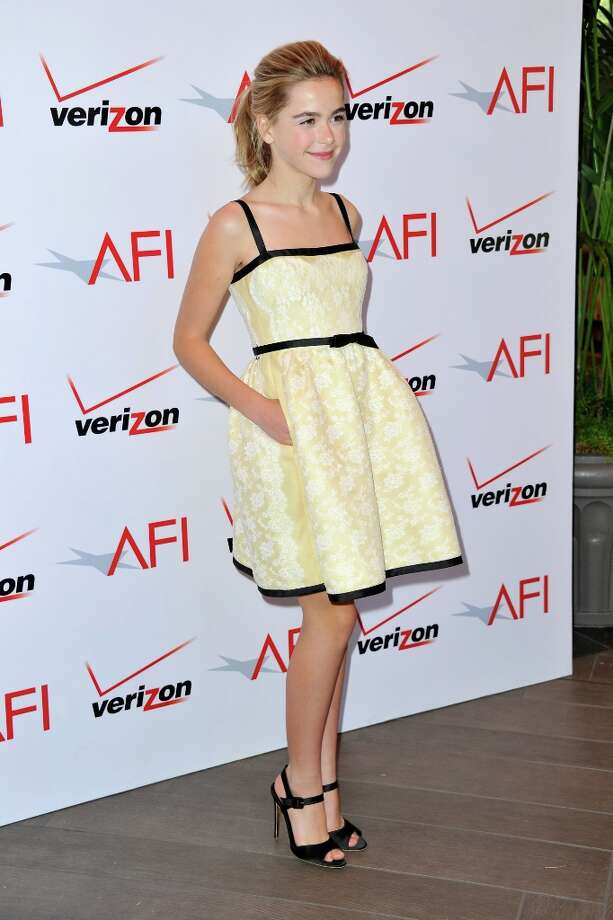 Kiernan Shipka at the AFI Awards in 2013.  Photo: Alberto E. Rodriguez, Getty Images / 2013 Getty Images