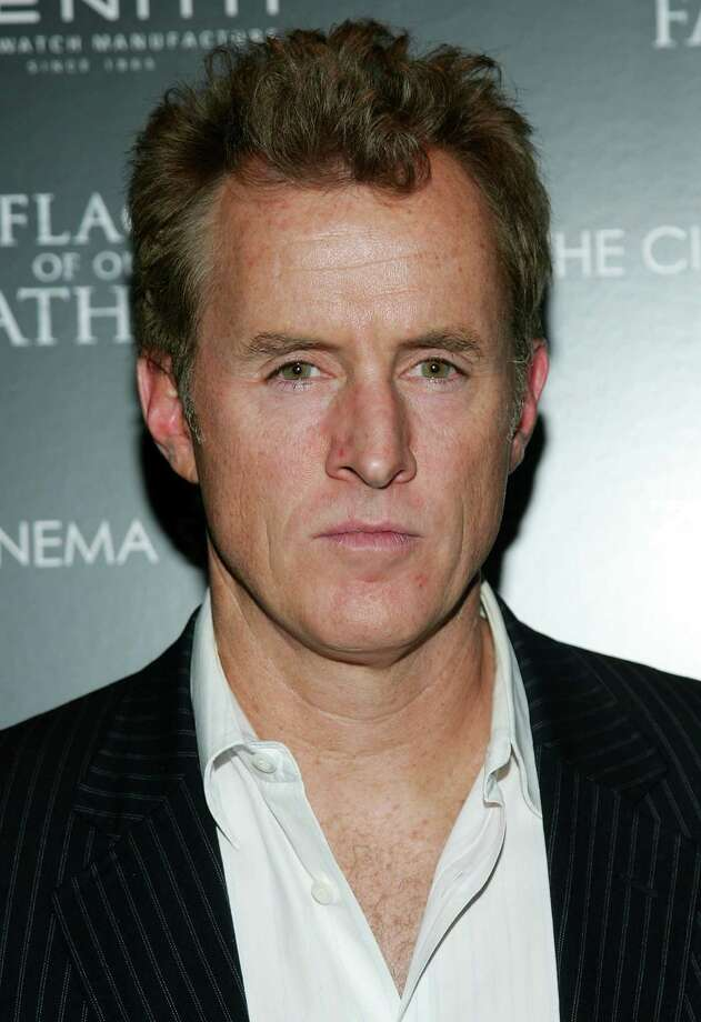 John Slattery, 50, has made silver hair sexy for a long time. But back in 2006, he sported some darker locks for the screening of Flags Of Our Fathers.' Photo: Evan Agostini, Getty Images / 2006 Getty Images