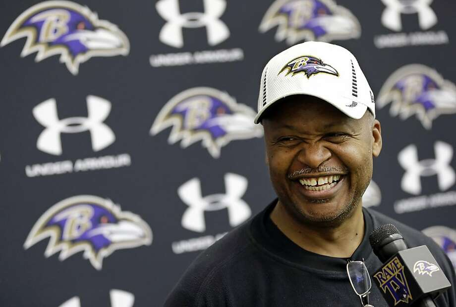 Jim Caldwell says he's thankful to be where he is: headed to the Super Bowl. Photo: Patrick Semansky, Associated Press