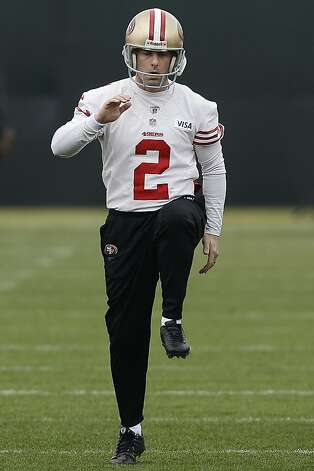49ers kicker David Akers stays positive