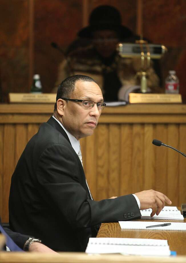 San Francisco Housing Authority Executive Director Henry Alvarez is seen during a Housing Authority Commission meeting on Thursday, January 24, 2013 in San Francisco, Calif. Photo: Lea Suzuki, The Chronicle