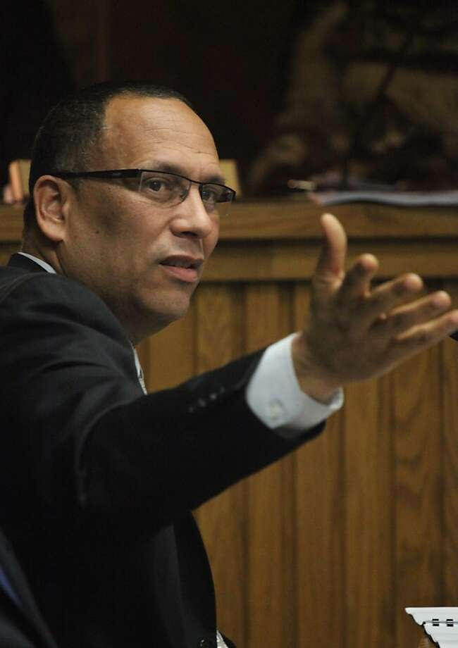 Ousted chief Henry Alvarez will be paid through June 12. Photo: Lea Suzuki, The Chronicle