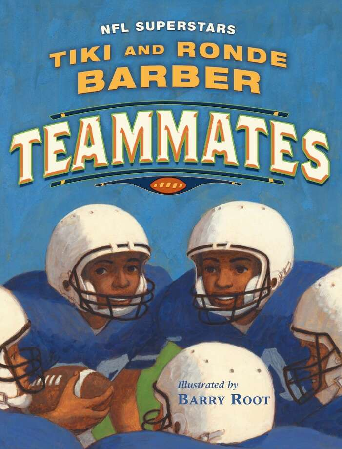 'Teammates' by Tiki and Ronde Barber. Photo: Ap, AP / SIMON AND SCHUSTER