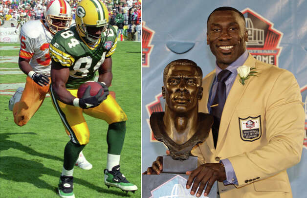 Wide receiver Sterling Sharpe's career was cut short by a neck injury while tight end Shannon Sharpe went into the Hall of Fame, but they split their two NFL meetings. Shannon gave Sterling a Super Bowl ring and both are now broadcasters.Upper hand: Neither.
