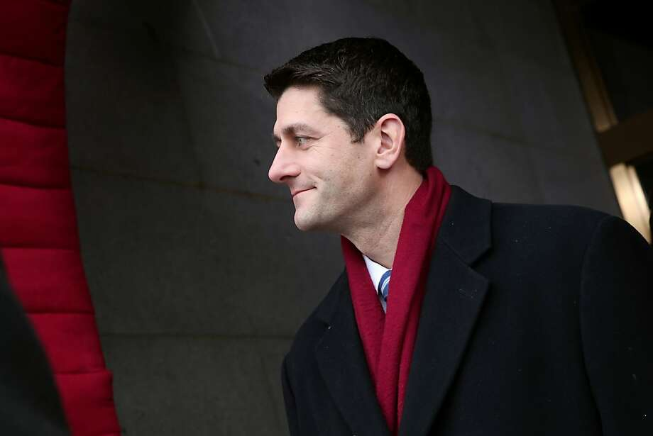 Former Republican vice presidential candidate Paul Ryan tells colleagues to pick their fights. Photo: Win McNamee, Associated Press