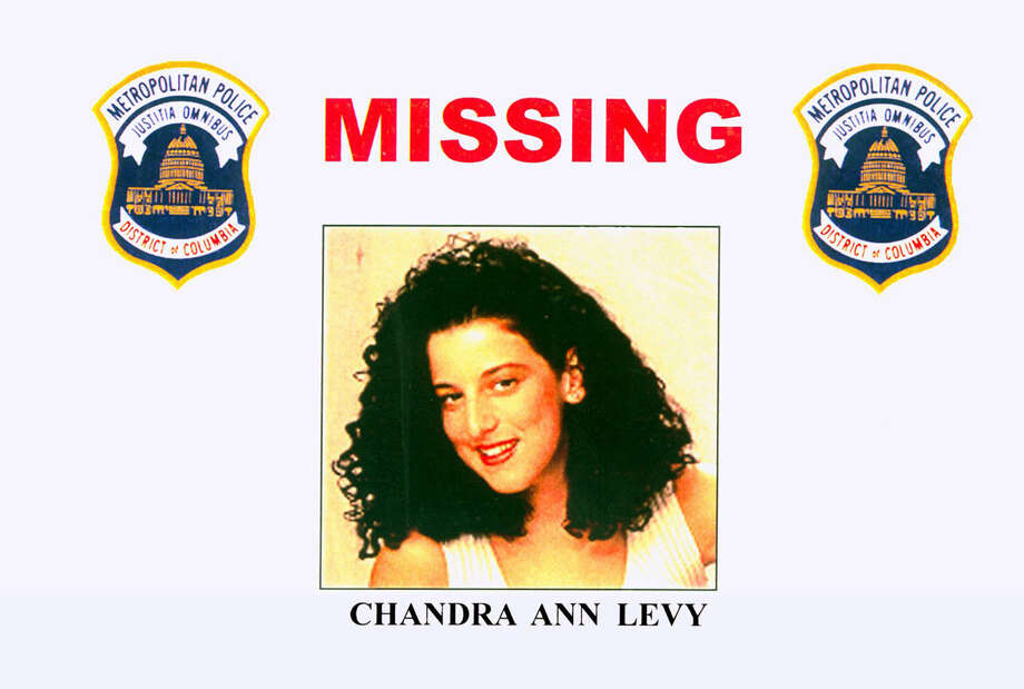 FILE - This 2001 file photo provided by the Washington Police Department shows the missing poster of Chandra Ann Levy, of Modesto, Calif. A judge is holding secret hearings in the case of the man convicted in the 2001 killing of Washington intern Levy. Neither prosecutors nor defense lawyers have revealed the purpose of the hearings, which have been taking place in Washington behind closed doors. Several media organizations, including The Associated Press, are petitioning to open the proceedings. (AP Photo/Washington Police Department, File) Photo: Uncredited