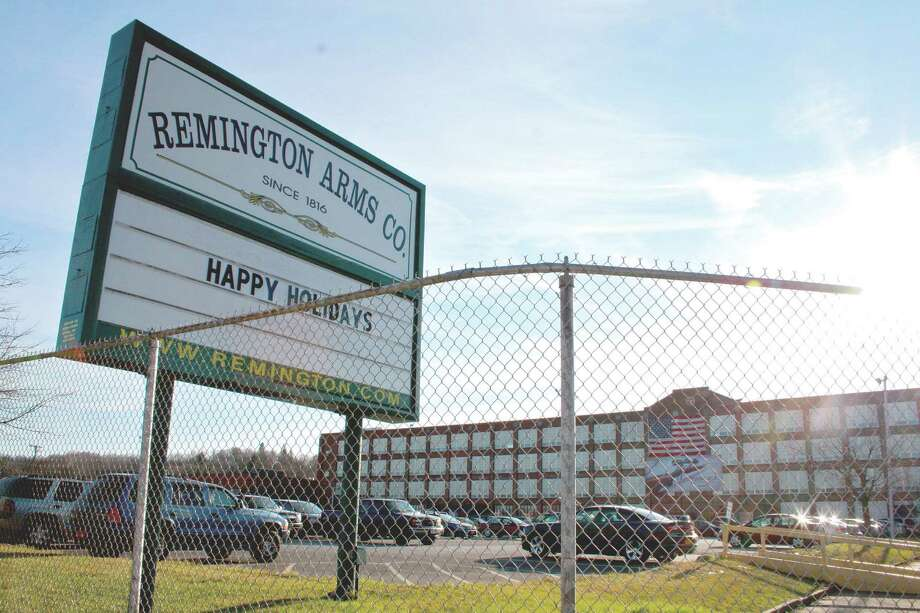 The Remington Arms factory in Ilion, NY. (Kristen V. Brown/Times Union)