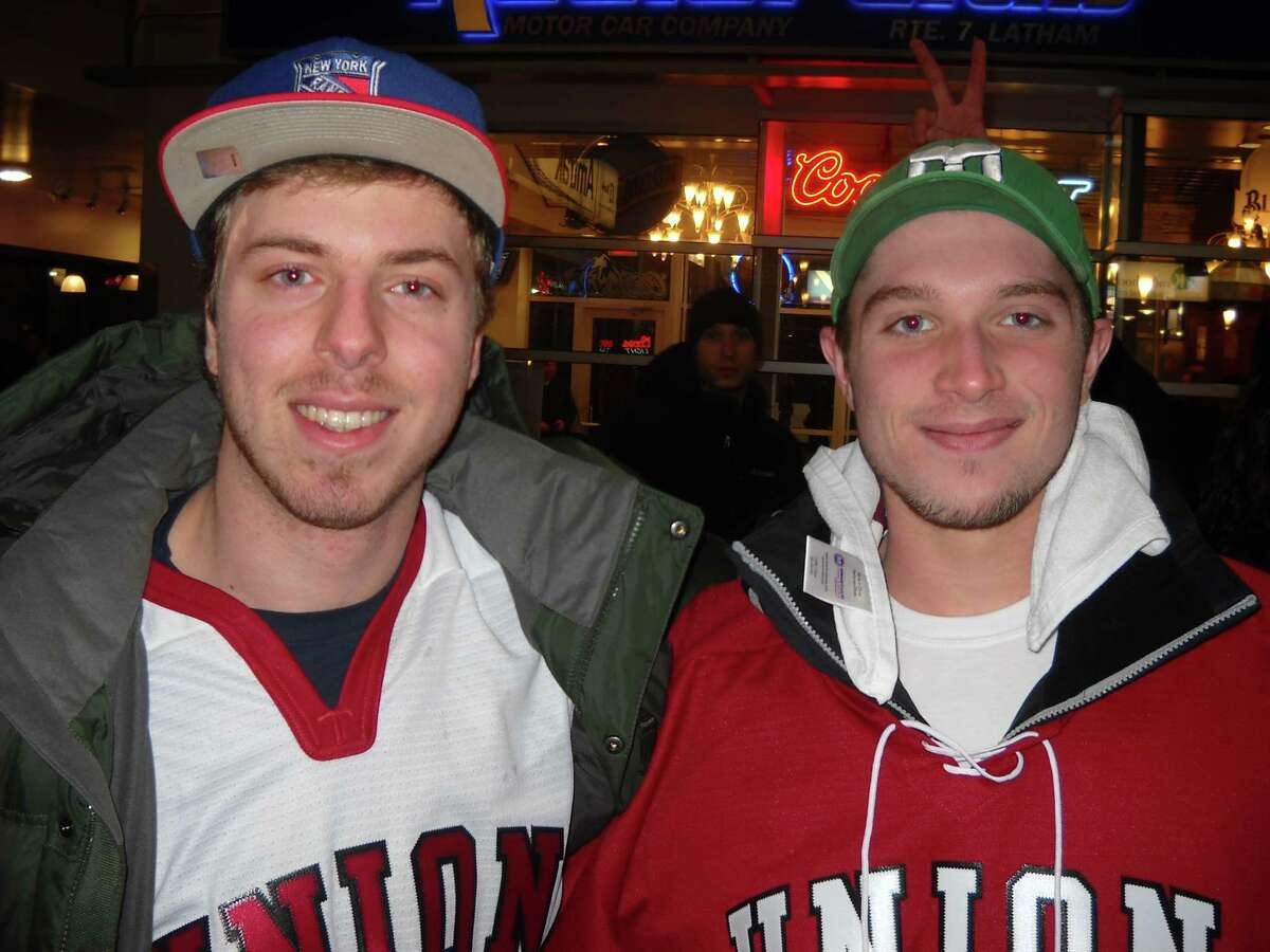 Were you Seen at the Union vs. RPI hockey game at the Times Union Center on Saturday, Jan. 26, 2012?