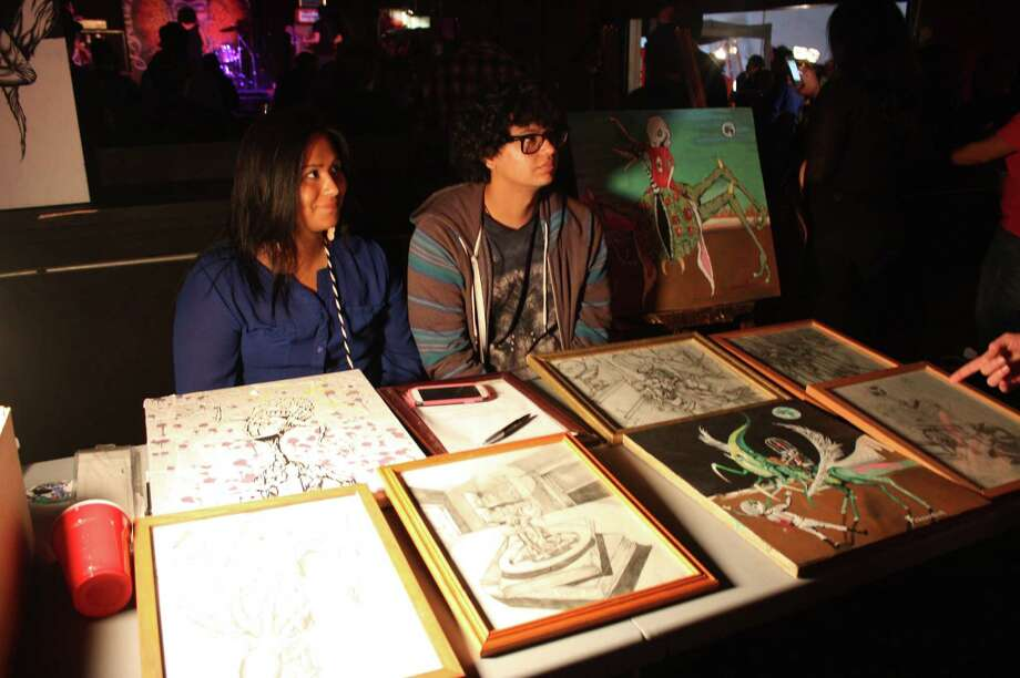 Visual artists gather for seventh annual Artslam! Photo: Libby Castillo