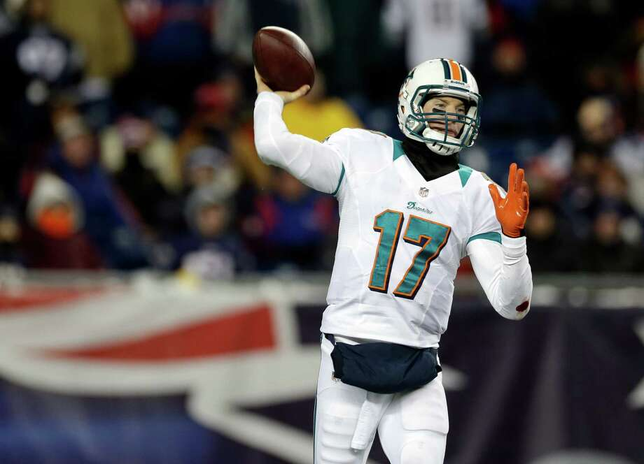 Ryan Tannehill, Miami Dolphins quarterback Photo: Elise Amendola, Associated Press / AP