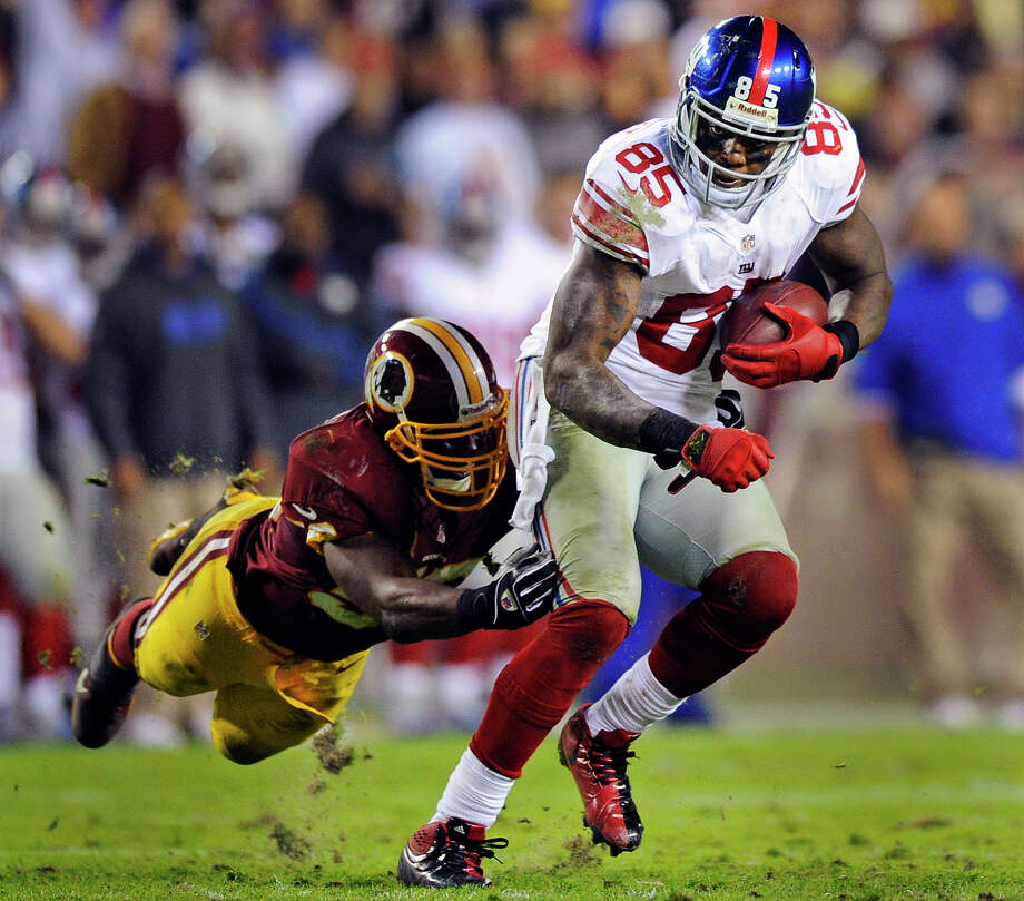 Martellus Bennett, New York Giants tight end. Photo: Nick Wass, Associated Press / FR67404 AP