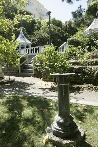 Fay Park on Russian Hill is one of the highest-rated parks in San Francisco, the Recreation and Park Department says. Photo: Christina Koci Hernandez, SFC