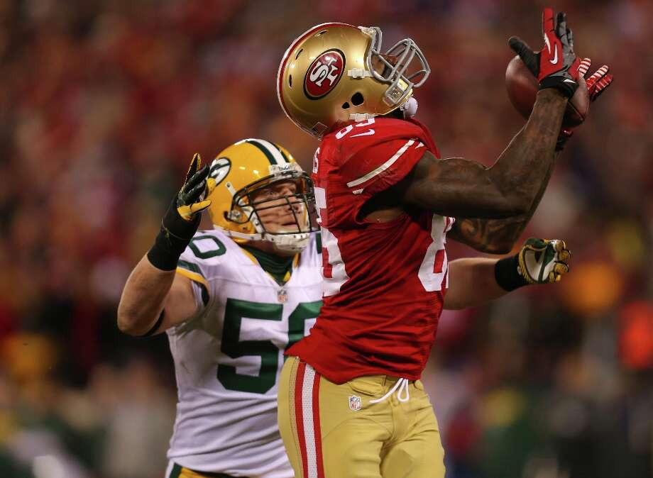 7. Saturday, Jan. 12, 2013: The 49ers use the pistol offense consistently, and it was the key to posting a 45-31 run-away win over the Packers. Photo: Michael Macor, The Chronicle / ONLINE_YES