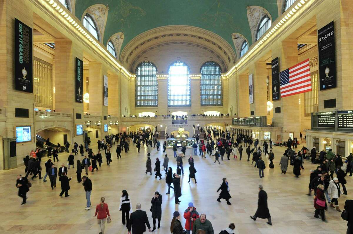 Grand Central Terminal, New York City, Thursday, Jan. 24, 2013. The landmark terminal celebrates its 100th birthday on Febuary 1st.