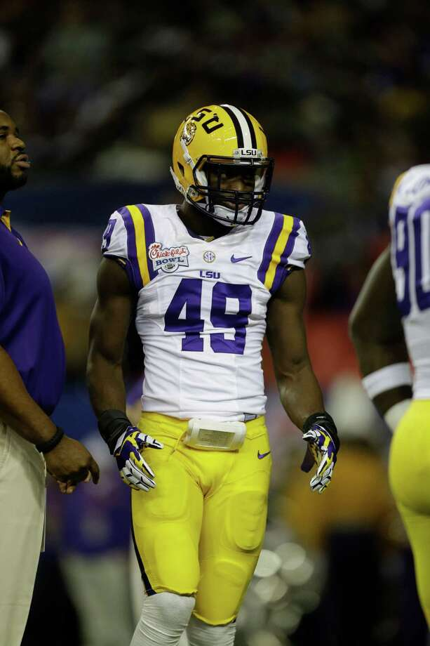LSU defensive end Barkevious Mingo Photo: David Goldman, Associated Press / AP