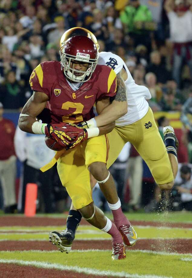 USC wide receiver Robert Woods (2). Photo: Harry How, Getty Images / 2012 Getty Images