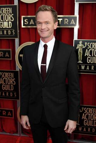 Neil Patrick Harris arrives at the 19th Annual Screen Actors Guild Awards at the Shrine Auditorium in Los Angeles on Sunday, Jan. 27, 2013. (Photo by Matt Sayles/Invision/AP) Photo: Matt Sayles, Associated Press / Invision