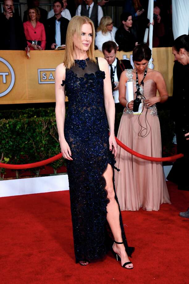 Actress Nicole Kidman arrives at the 19th Annual Screen Actors Guild Awards held at The Shrine Auditorium on January 27, 2013 in Los Angeles, California. Photo: Frazer Harrison, Getty Images / 2013 Getty Images