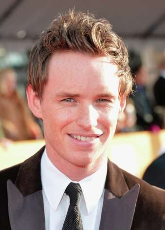 Actor Eddie Redmayne arrives at the 19th Annual Screen Actors Guild Awards held at The Shrine Auditorium on January 27, 2013 in Los Angeles, California. Photo: Alberto E. Rodriguez, Getty Images / 2013 Getty Images