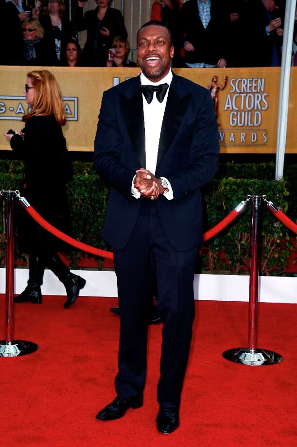 Actor Chris Tucker arrives at the 19th Annual Screen Actors Guild Awards held at The Shrine Auditorium on January 27, 2013 in Los Angeles, California. Photo: Frazer Harrison, Getty Images / 2013 Getty Images