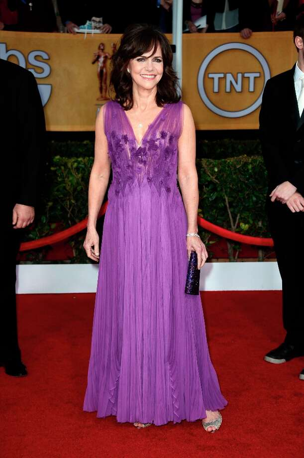 Actress Sally Field arrives at the 19th Annual Screen Actors Guild Awards held at The Shrine Auditorium on January 27, 2013 in Los Angeles, California. Photo: Frazer Harrison, Getty Images / 2013 Getty Images