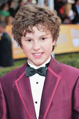 Actor Nolan Gould arrives at the 19th Annual Screen Actors Guild Awards held at The Shrine Auditorium on January 27, 2013 in Los Angeles, California. Photo: Alberto E. Rodriguez, Getty Images / 2013 Getty Images