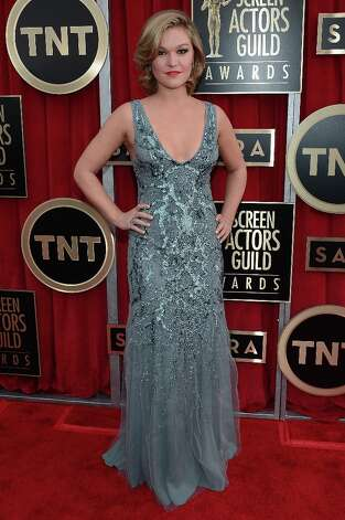LOS ANGELES, CA - JANUARY 27:  Actress Julia Stiles arrives at the 19th Annual Screen Actors Guild Awards held at The Shrine Auditorium on January 27, 2013 in Los Angeles, California. Photo: Kevork Djansezian, Getty Images / 2013 Getty Images