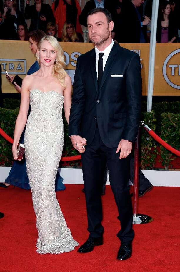 LOS ANGELES, CA - JANUARY 27:  Actors Naomi Watts (L) and Liev Schreiber arrive at the 19th Annual Screen Actors Guild Awards held at The Shrine Auditorium on January 27, 2013 in Los Angeles, California. Photo: Frazer Harrison, Getty Images / 2013 Getty Images