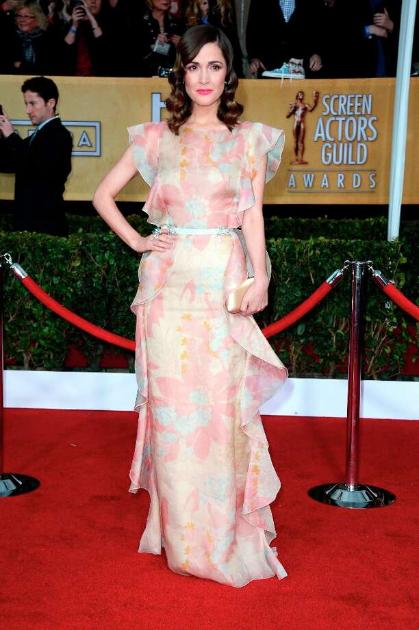 LOS ANGELES, CA - JANUARY 27:  Actress Rose Byrne arrives at the 19th Annual Screen Actors Guild Awards held at The Shrine Auditorium on January 27, 2013 in Los Angeles, California. Photo: Frazer Harrison, Getty Images / 2013 Getty Images