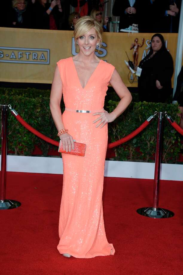 LOS ANGELES, CA - JANUARY 27:  Actress Jane Krakowski arrives at the 19th Annual Screen Actors Guild Awards held at The Shrine Auditorium on January 27, 2013 in Los Angeles, California. Photo: Frazer Harrison, Getty Images / 2013 Getty Images