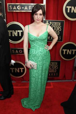 Actress Melanie Lynskey arrives at the 19th Annual Screen Actors Guild Awards at the Shrine Auditorium in Los Angeles on Sunday, Jan. 27, 2013. (Photo by Matt Sayles/Invision/AP) Photo: Matt Sayles, Associated Press / Invision