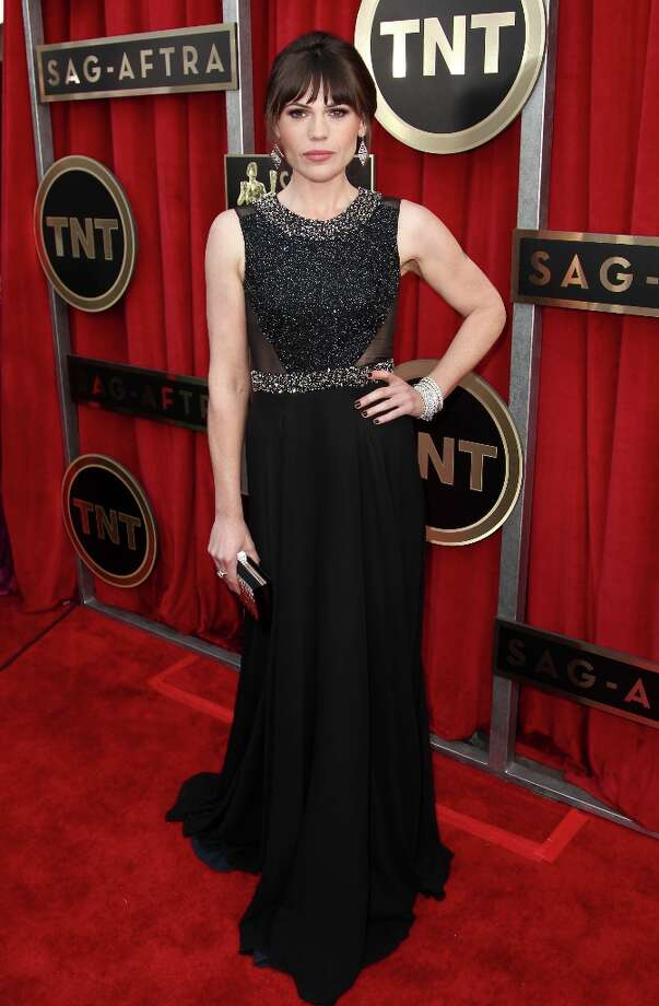 Actress Clea DuVall arrives at the 19th Annual Screen Actors Guild Awards at the Shrine Auditorium in Los Angeles on Sunday, Jan. 27, 2013. (Photo by Matt Sayles/Invision/AP) Photo: Matt Sayles, Associated Press / Invision