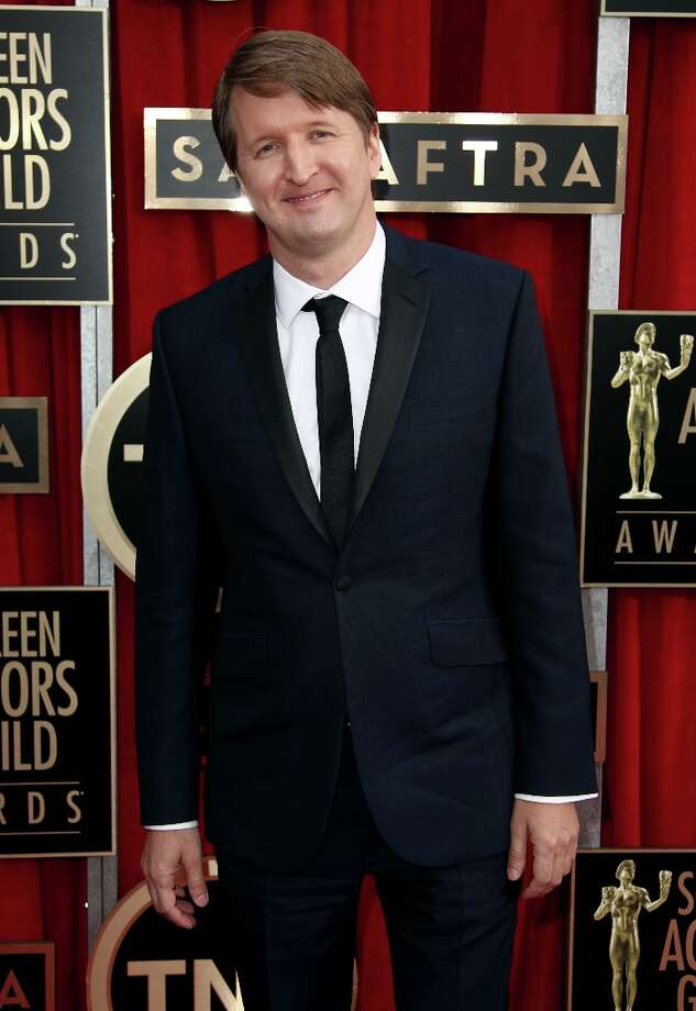 Director Tom Hooper arrives at the 19th Annual Screen Actors Guild Awards at the Shrine Auditorium in Los Angeles on Sunday Jan. 27, 2013. (Photo by Matt Sayles/Invision/AP) Photo: Matt Sayles, Associated Press / Invision