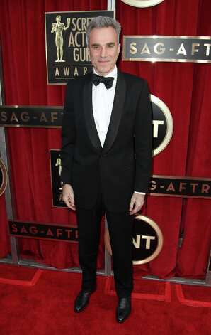 Actor Daniel Day-Lewis arrives at the 19th Annual Screen Actors Guild Awards at the Shrine Auditorium in Los Angeles on Sunday, Jan. 27, 2013. (Photo by Matt Sayles/Invision/AP) Photo: Matt Sayles, Associated Press / Invision