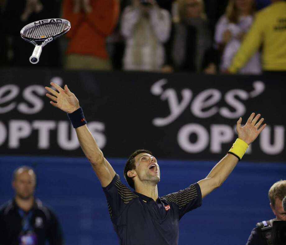 Would Novak Djokovic be able to win a third consecutive Australian Open championship? The answer was an emphatic yes. Photo: Dita Alangkara, STF / AP