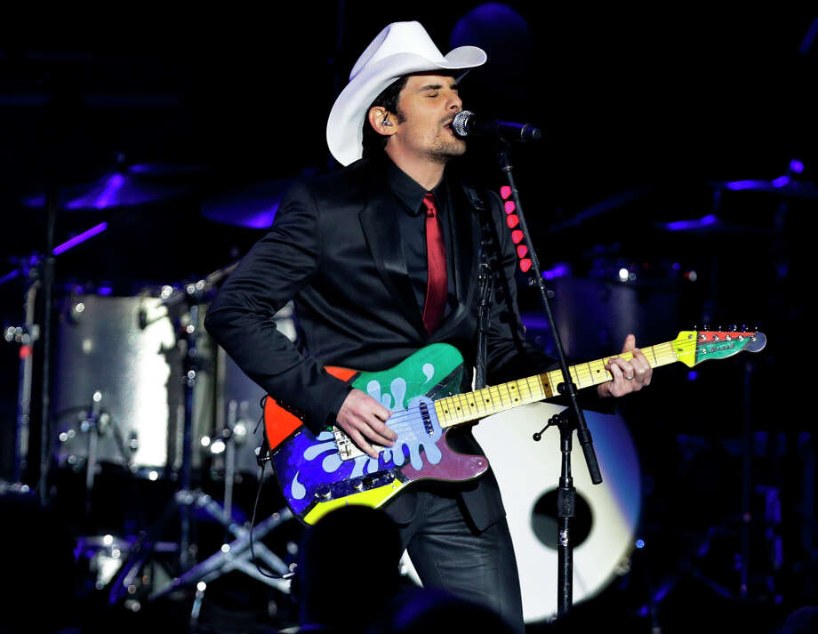 Brad Paisley performs at the Commander-in-Chief's Inaugural Ball at the 57th Presidential Inauguration in Washington, Monday, Jan. 21, 2013. Photo: Jacquelyn Martin, AP / AP