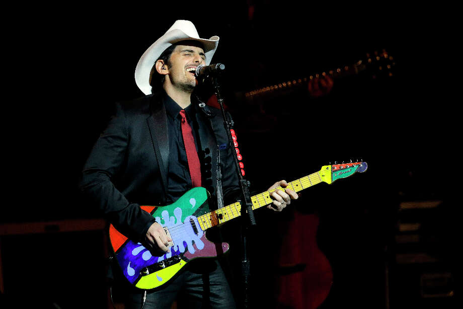Brad Paisley performs during The Inaugural Ball at the Washignton convention center during the 57th Presidential Inauguration in Washington, Monday, Jan. 21, 2013. Photo: Paul Sancya, AP / AP