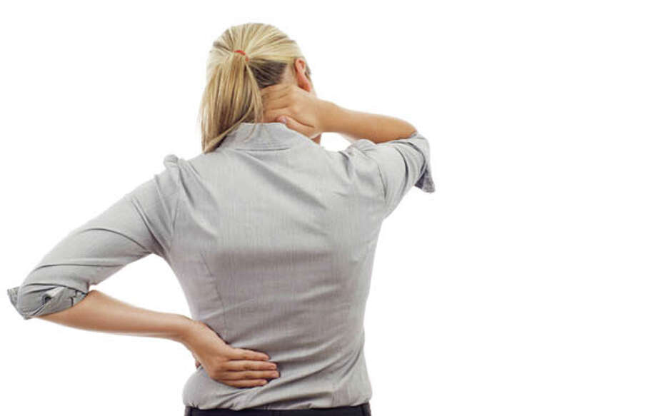 Chronic pain, particularly in the lower back, is a problem for many Americans. A National Institute of Health Statistics survey showed that lower-back pain affected 27 percent of those responding. Fifteen percent said they had severe headache or migraine pain and another 15 percent said they suffered from neck pain. source: tinyurl.com/hl13chronicpain / (c) Kennethman | Dreamstime.com