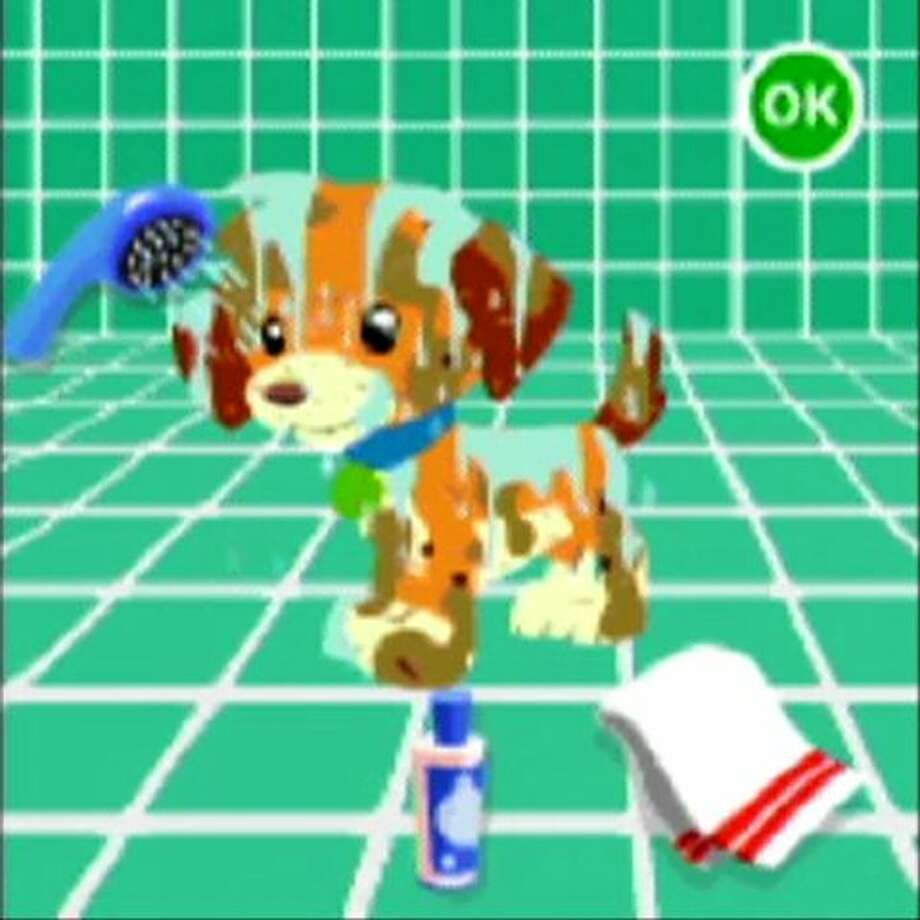 LeapFrog Explorer Learning Game: Pet Pals 2: Best of Friends! Kids take care of their own pet, developing skills, such as addition and subtraction at a dog show and basic money-saving and goal-setting as they work toward buying items at the store. Age 4. Platforms: Leapster Explorer and LeapPad Explorer. More at CommonSenseMedia.org.