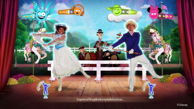 Just Dance: Disney Party: Kids learn to dance by mimicking routines or they can make up their own dances. Age 5. Platforms: Nintendo Wii, Xbox 360. More at CommonSenseMedia.org.