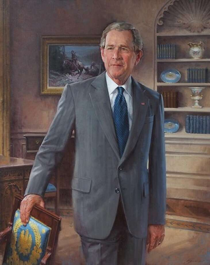 President George Walker Bush by John Howard Sanden