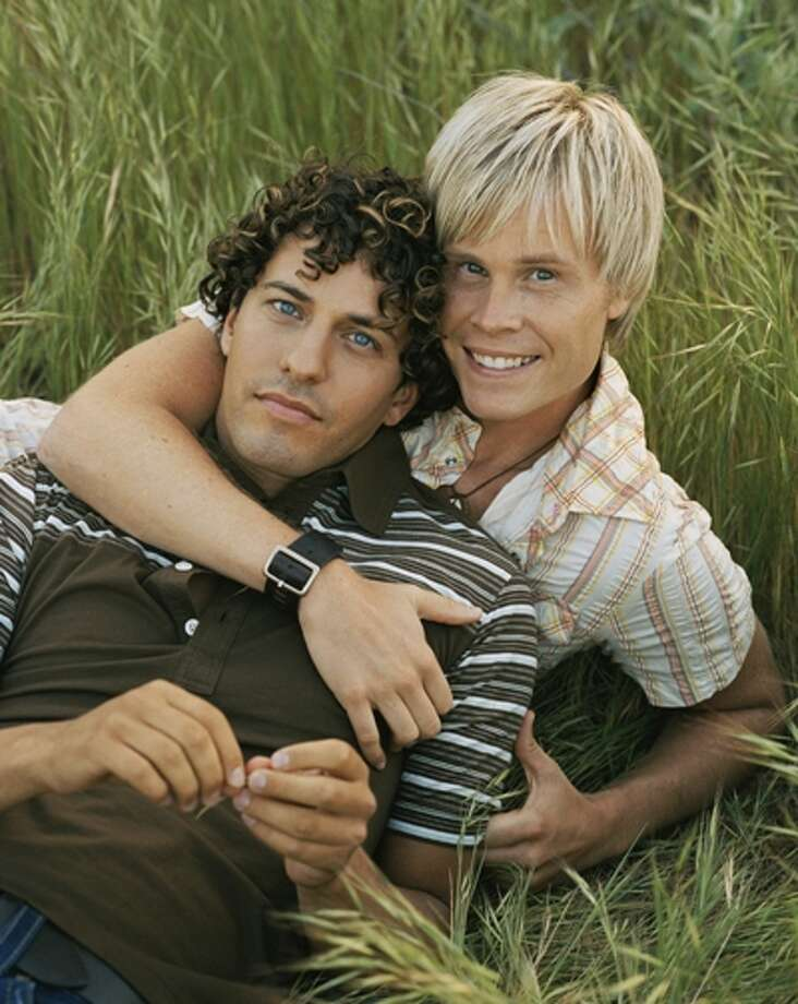 Jason (right) and deMarco are a pop duo and real-life couple based in Houston. They were the subject of the documentary We're All Angels, which aired on Showtime.