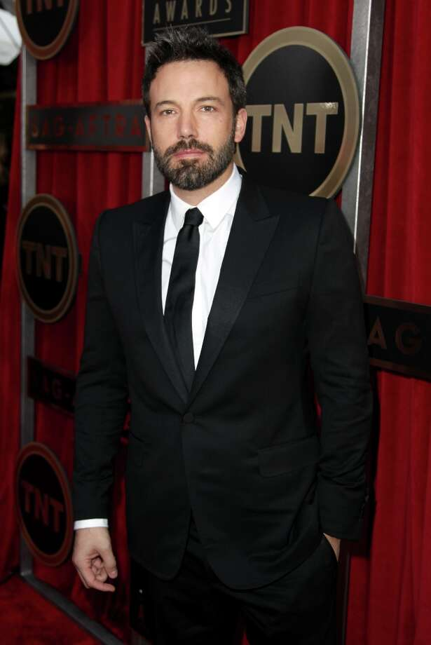 Director Ben Affleck arrives at the 19th Annual Screen Actors Guild Awards at the Shrine Auditorium in Los Angeles on Sunday, Jan. 27, 2013. (Photo by Matt Sayles/Invision/AP) Photo: Matt Sayles, Associated Press / Invision